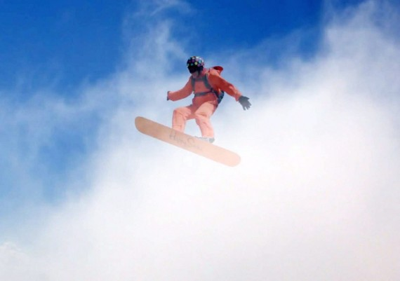 Cloud surfer