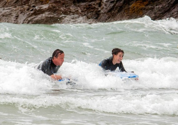 Surfs up Dave