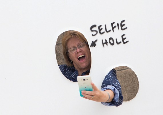 Dismal Selfie